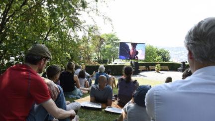 Am 8.7.2017 präsentierte sich das ITFS im Garten der Villa Reitzenstein.